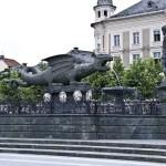 La leyenda del Lindwurm en Klagenfurt