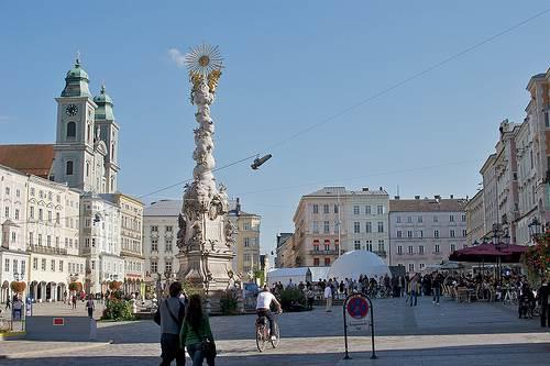 Plaza en Linz