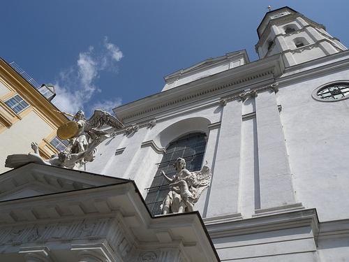 Michaelerkirche en Viena