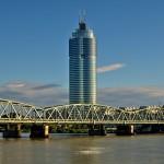 Millennium Tower y Millennium City, en Viena