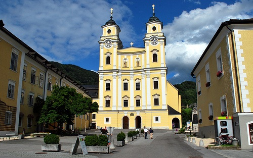 Iglesia principal de Mondsee