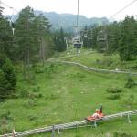 La montaña rusa alpina más larga del mundo