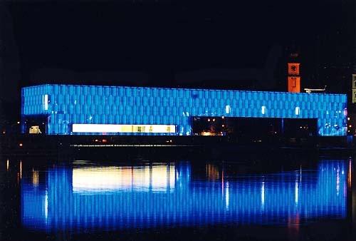 Museo de Arte Lentos en la noche
