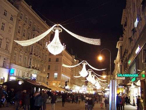 Navidad en las calles de Viena