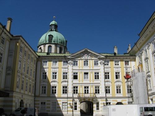 Patio del Palacio Imperial de Innsbruck