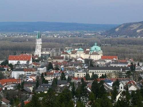 Vista de Klosterneuburg