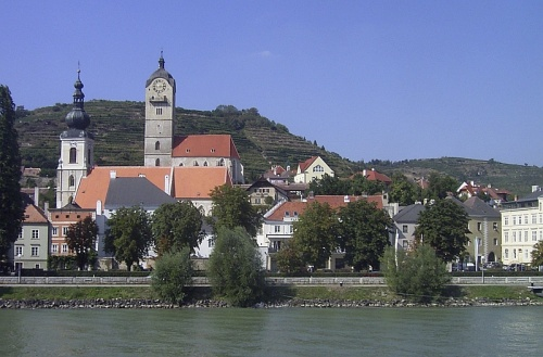 Paisaje de Krems an der Donau