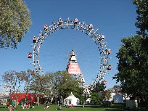 El parque Prater de Viena