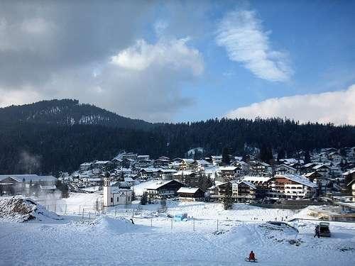 Seefeld en Invierno