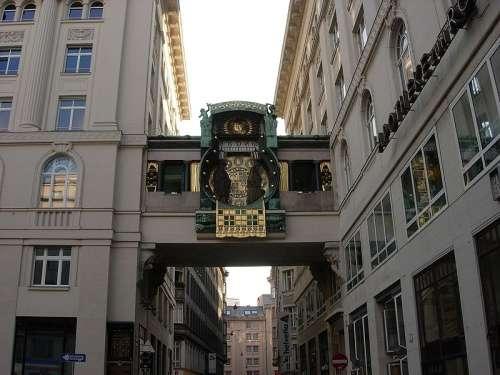 Reloj de ancla de Viena