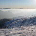 Aflenzer Bürgeralm y Hebalm en invierno