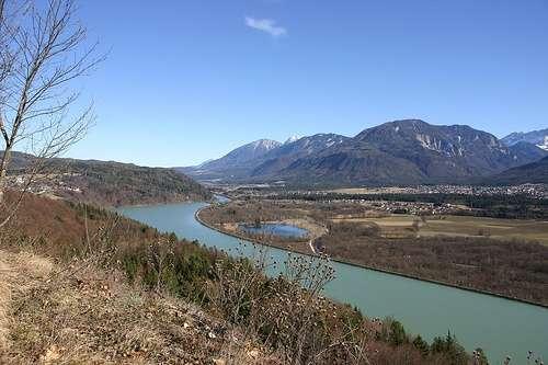 Rio Drava en Rosental