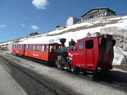 Estacion final en Schafbergbahn