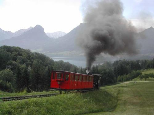 Locomotora en Schafbergbahn