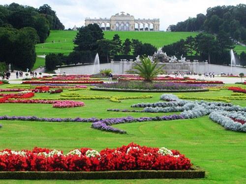 Los jardines barrocos de sch nbrunn for Jardines barrocos