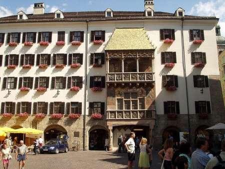 Techo dorado en Innsbruck