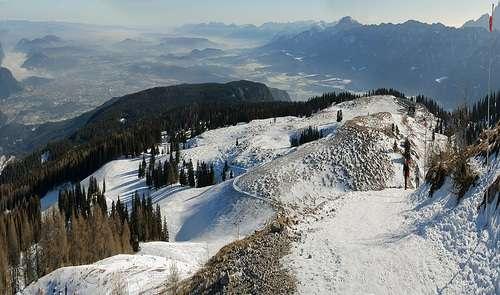 Alrededores de Villach en invierno