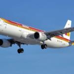 Vuelo de Iberia entre Madrid y Viena