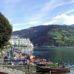Zell am See, esquí y lago en Salzburgo